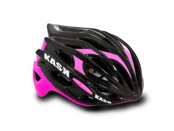 KASK HELMETS MOJITO BLACK AND FUSCHIA click to zoom image