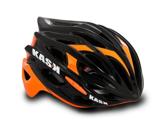 KASK HELMETS MOJITO BLACK AND ORANGE click to zoom image