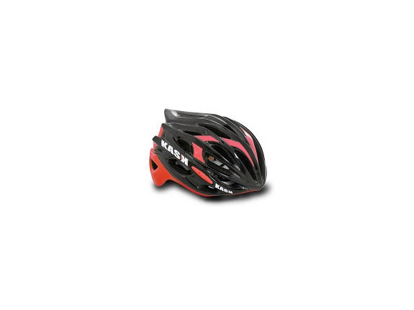 KASK HELMETS MOJITO BLACK AND RED click to zoom image
