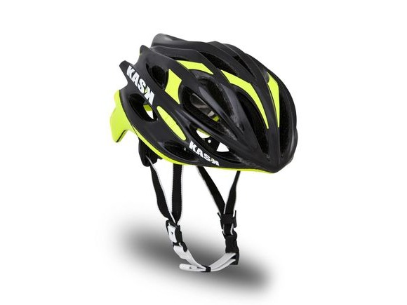 KASK HELMETS MOJITO BLACK AND YELLOW FLURO click to zoom image