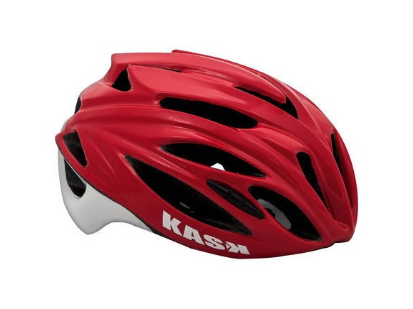 KASK HELMETS RAPIDO RED/WHITE click to zoom image