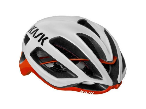 KASK HELMETS PROTONE WHITE/RED click to zoom image