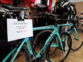 BIANCHI Aria 105 55cm only (EX TEAM BIKE)