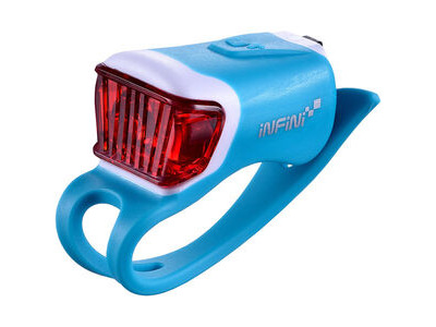Infini Orca USB rear light, blue