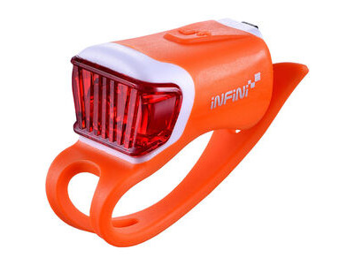 Infini Orca USB rear light, orange
