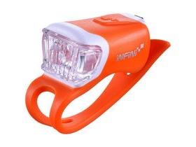 Infini Orca USB front light, orange