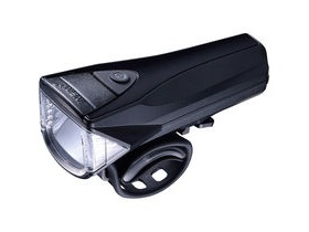 Infini Saturn 3 watt/300 lumen front light, meets German standard, black