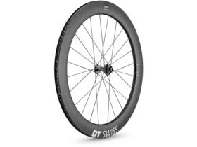 DT Swiss ARC 1400 DICUT disc brake wheel, carbon clincher 62 x 17 mm rim, front