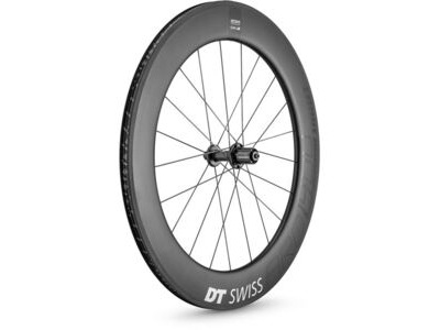 DT Swiss ARC 1400 DICUT wheel, carbon clincher 80 x 17 mm rim, rear