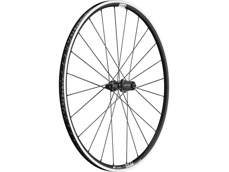 DT Swiss P 1800 SPLINE, clincher 23 x 18mm, rear click to zoom image