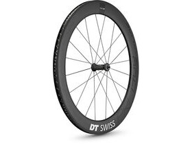 DT Swiss PRC 1400 SPLINE, carbon clincher 65 x 18mm rim, front