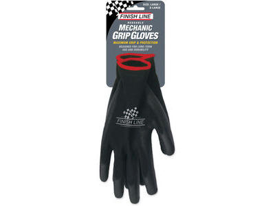 Finish Line Mechanic Grip Gloves (Large / XL)