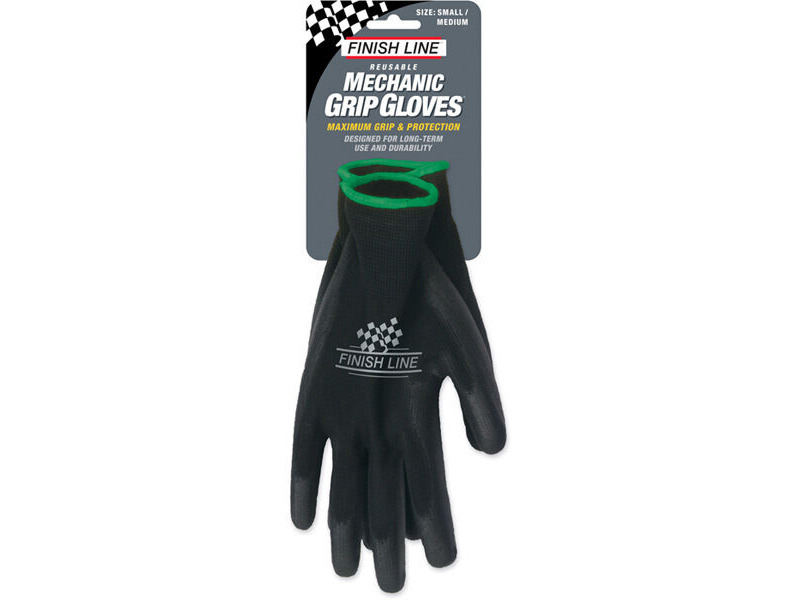 Finish Line Mechanic Grip Gloves (Small / Medium) click to zoom image
