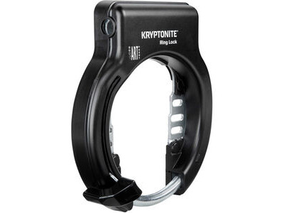Kryptonite Ring Lock with plug in capability - non retractable (Sold Secure silver)