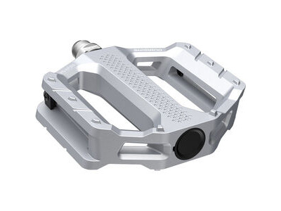SHIMANO PD-EF202 MTB flat pedals, silver