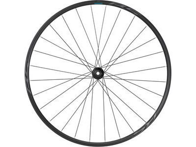 SHIMANO WH-RS171 700C wheel, 12x100mm E-thru, Center Lock disc, black, front