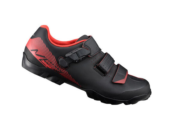 SHIMANO ME300 SPD MTB shoes, black/orange click to zoom image
