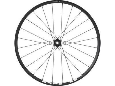 SHIMANO WH-MT500 MTB wheel, 27.5 in (650b), 15 x 110mm boost thru-axle, front, black