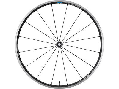 SHIMANO RS500-TL Tubeless compatible clincher, front 100mm Q/R, grey