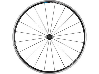 SHIMANO WH-RS100 clincher wheel, 100 mm Q/R axle, front, black