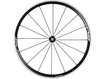 SHIMANO WH-RS330 wheel, clincher 30mm, black, front