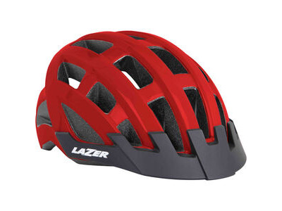Lazer Compact red uni-size adult helmet