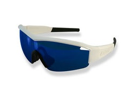 Lazer Solid State 1 SS1 Gloss White frame grey + blue lens triple pack