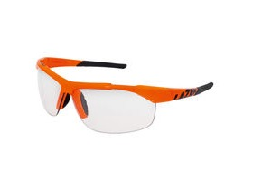 Lazer Argon 2 AR2 Gloss Flash Orange frame crystal photochromic lens