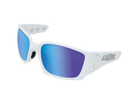 Lazer Magneto M2 Matt White frame grey + blue lens triple pack