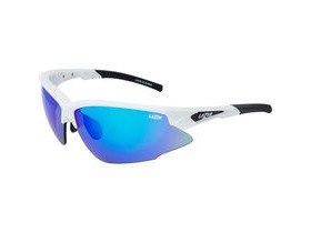 Lazer Argon Race ARR Gloss White frame grey + blue lens triple pack