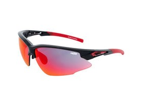 Lazer Argon Race ARR Gloss Black frame grey + red lens triple pack