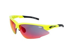 Lazer Argon Race ARR Gloss Flash Yellow frame grey + rainbow lens triple pack