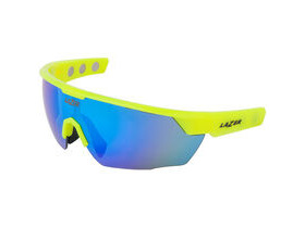 Lazer Magneto M3 Gloss Flash Yellow frame smoke + blue lens triple pack