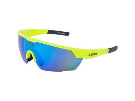 Lazer Eddy Gloss Flash Yellow frame smoke + blue lens triple pack