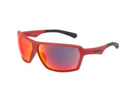 Lazer Frank Matt Red frame grey + red lens