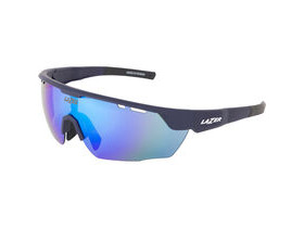 Lazer Eddy Matt Dark Blue frame smoke + blue lens triple pack