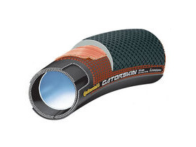 "Continental Sprinter GatorSkin 28"" x 25mm Black / DuraSkin Tubular"