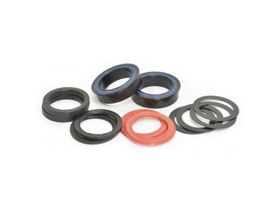 Wheels Manufacturing BB86/92 Black Oxide ABEC-3 to 29mm (DUB) Bearing Kit