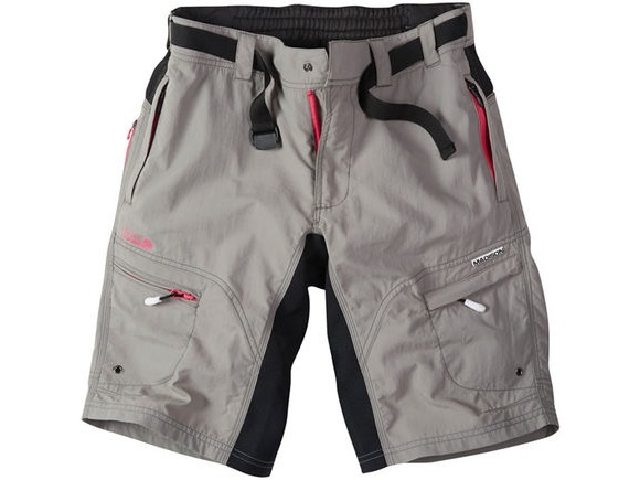 MADISON Trail women's shorts, cloud grey click to zoom image