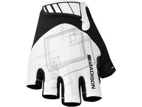 MADISON Sportive women's mitts, white