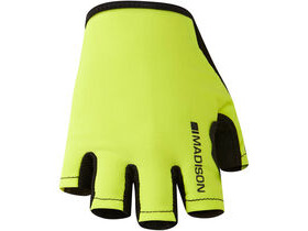 MADISON Track women's mitts, hi-viz yellow