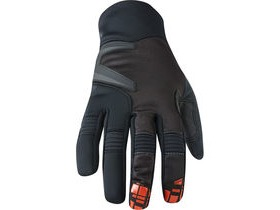 MADISON Winter Storm men's softshell gloves, black / chilli red