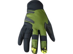 MADISON Winter Storm men's softshell gloves, olive green