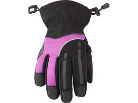 MADISON Stellar women's waterproof gloves, black / purple cactus