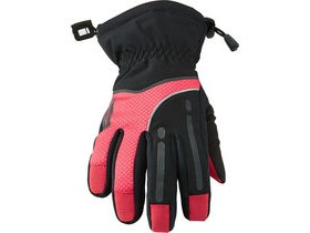 MADISON Stellar women's waterproof gloves, black / diva pink