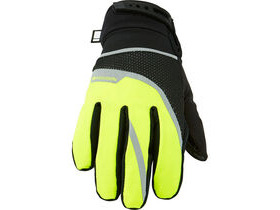 MADISON Protec youth waterproof gloves, hi-viz yellow