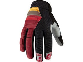 MADISON Zenith men's gloves, blood red / black
