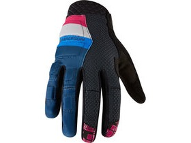 MADISON Zenith men's gloves, atlantic blue / cloud grey
