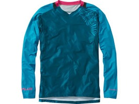 MADISON Flux Enduro men's long sleeve jersey, atlantic blue / china blue