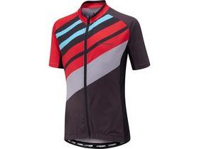 MADISON Sportive youth short sleeve jersey, flame red / black